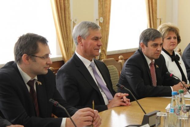 Встреча с представителями Законодательного собрания Свердловской области, 2014