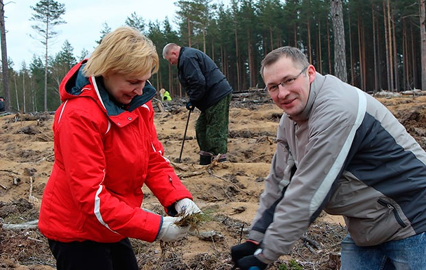 Неделя леса - 2014, Логойский лесхоз