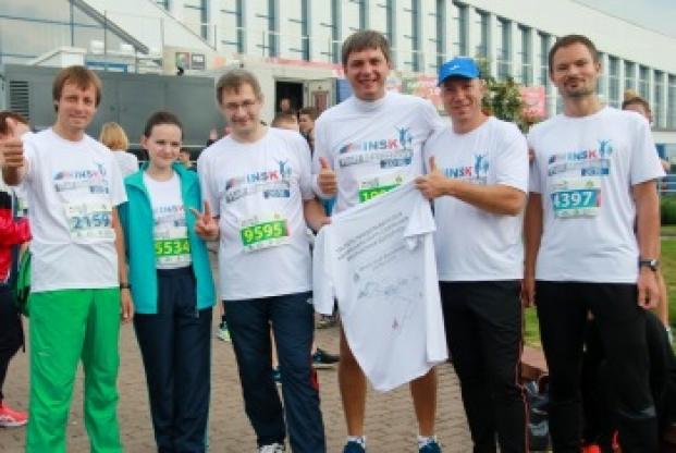 Участие Палаты представителей в Минском полумарафоне
